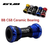 GUB Ceramic Bearing Bottom Bracket Shell C-68  BB 68 68/73MM Screw/Thread Type BSA  Bearings