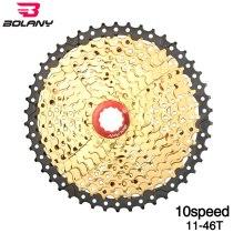 Bolany Bicycle Freewheel  11-46T Wide Ratio MTB Bike Cassettes Sprocket Cdg Cog Aluminum Alloy Bracket Accessories