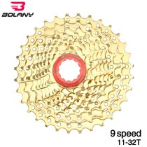 Bolany Bicycle Gold Cassette Freewheel  Road Bike Cycling 18S 27S  For Accessories Parts