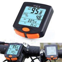 BOGEER[YT-813] Bike Speed Meter Digital Bike Computer Multifunction Waterproof Sports Sensors Bicycle Computer Speedometer
