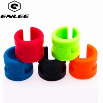 ENLEE Bicycle Protective Gear road mountain bike frame collision rubber protection ring guard chain protector stickers