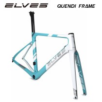 ELVES[QUENDI] road bike frame carbon fiber bicycle frame, frame + fork 1520g , aero-dynamics , aerodynamics