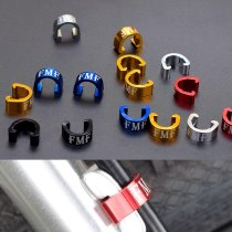 MTB Bicycle Derailleurs Bike Shifting Cable Brake Line Tube & Hydraulic Oil Pipe C Type Buckle U Type Fixed Buckle FMF
