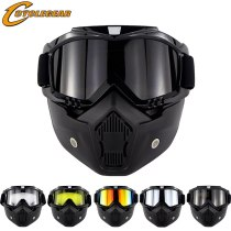 CS Motocross Goggles Mask  Motorcycle Racing  Outdoor Sport Glasses Open Face Gafas Okulary Motocykl CG12