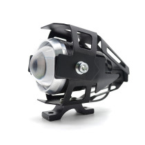 U5 Fisheye Lens LED Motorcycle Light Headlight Driving Fog Spot Night Work Lamp Switch For Honda GROM MSX 125 PCX125 2013 - 2015