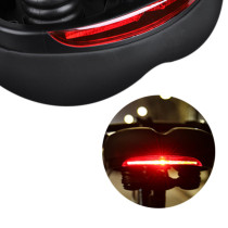 Bicycle Saddle with Tail Light Shock Absorbing Silicone Hollow Bicycle Saddle Soft Widen Mtb Road Bike Seat Bicycle Accessories