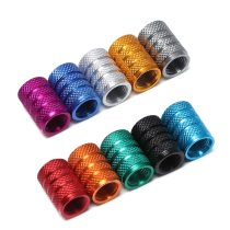 1PC Universal Dustproof Aluminium Alloy Bicycle Cap Wheel Tire Covered Car Truck Tube Tyre Bike Accessories 10 Colors