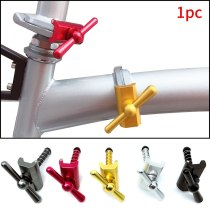 C Type Bike Hinge Clamps Levers Fixed Magnetic Folding Buckle Replacement Riding Limit Accessories Outdoor Cycling For Brompton