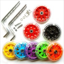 Bicycle Cycling Kids Children Stabilisers Mounted Kit 12-20  Bike Auxiliary Wheel Training Mute Wheels Cycling Accessories