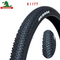 KENDA highway bicycle tire K1177 Steel wire tyre 24 26 27.5inches 24*1.95 26*1.95 27.5*1.95Chains large patterns mountain bike tires parts
