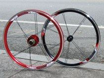 Litepro Top Level Starlight 22 inch 451 Ultralight Folding Bike Wheelset Bmx Wheels 22inch Wheelset Bmx Parts