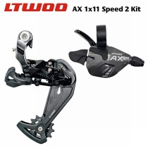 LTWOO AX 1x11 Speed Trigger Shifter + Rear Derailleurs, 11s MTB Bike Compatible with 52T Bicycle Cassette for PCR BEYOND M8000