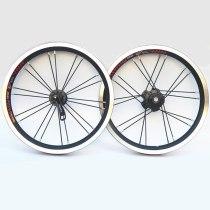 Litepro  9t  Single-Speed Bike Wheels 14inch Folding Bicycle 412 Wheelset Outer  Wheel Set