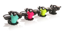412 Folding Bike Derailleur 3 Speed Shift Lever & Rear 3 Speed Freewheel Shifing Folding Bicycle Shifter Parts Red/Black/Yellow