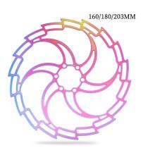 IIIPRO Mountain Bike Brake Disc Rotor 160/180/203mm Ultralight Hollow Bicycle Disc Brake Rotors DH Cycling MTB Bike Accessories
