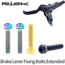 Bike Brake Lever Fixing Bolts Extended Titanium M5*25 Bicycle Hydraulic Brake Fixed Screws for SRAM Guide R RS RSC Brake DIY