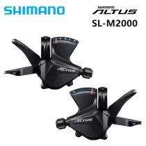 Original Shimano A l t u s Bicycle SL-M2000 3 X 9-Speed Mountain bike RAPIDFIRE Plus Bike Shift Lever