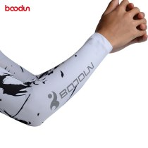 Boodun Ice Fabric Breathable UV Protection Running Arm Sleeves Fitness Basketball Elbow Pad Sport Cycling Outdoor Arm Warmers