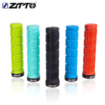 ZTTO Durable Shock-Proof Rubber Anti-Slip MTB Mountain Bike Handlebar Grips Fixed Gear Bicycle Grips cycling Road Parts 1Pair