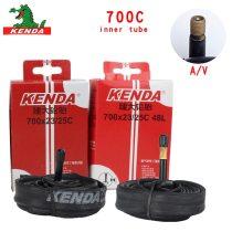 Kenda Bicycle Inner Tube Cycling Mountain Bike Butyl Rubber Bicycle Tube Tire 700 *18 23 25 28 32 35 43 45C American valve