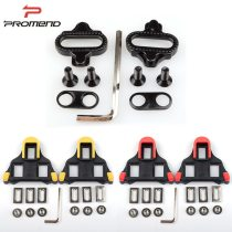 PROMEND Bicycle Self-locking Cycling Pedal Cleats Plastic Road Bike Shoes Cleats Adjustable Plate Splint Road SPD-SL System