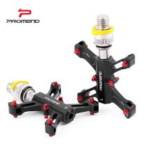 PROMEND Bicycle Pedals Platform Quick Release fit 3Sixty Brompton Folding Bike Minivelo DU Sealed Bearing 9/16  Pedals Universal