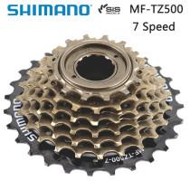 Shimano MF-TZ500 7 Speed Bicycle Cassette Freewheel 14-28T 14-34T Sprocket 7s Steel for MTB Road Folding Bike accessories