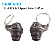 Shimano RS25 3x7 21s MTB Bicycle Bike Shifter Twist Shifter Brake Lever /Shifter Combo Set Cheap Then Black Shimano RS35