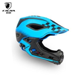 CIGNA Bike Full Covered Child Helmet Balance Cycling For Children Helmet Motorcycle Bicycle Motocross MTV DH Safety Helmet