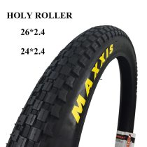 MAXXIS Holy Roller bicycle tire 26 26*2.4 24*2.4 ultralight BMX street bike tires chocolate tread climbing tyres biketrial