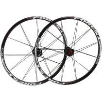 RT[RC5] Mountain Bike Bicycle Six Star Style 5 Bearing Carbon Fiber Hub Super Smooth Wheel Wheelset 26 /27.5 er