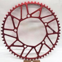 Litepro Ultralight Bicycle Chainwheel 48/50/52/54/56/58T Chainring Full Hollow Positive Negative Teeth Disc 130BCD P8 SRA683 JP8