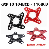 SNAIL For GXP Crank Change To 104BCD Conversion Claw Rotation 110BCD Converter 4 Claw / 5 Claw Converter