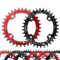 SNAIL 96BCD Round Oval Chainring Narrow Wide 32T/34T/36T Chainwheel Bicycle  Cycling A7075-T6 Ultralight Circle Crankset Plate