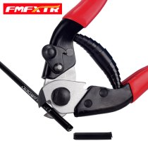 Bicycle line pipe wrench mountain bike trimmer pliers brake shifting line tube scissors inner core wire cutting tool