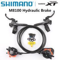 Shimano Deore XT M8100 Disc Brake Mountain Bike Hydraulic Disc Brake MTB ICE-TECH Left&Right 800/900 1500/1600mm M8000 upgrade