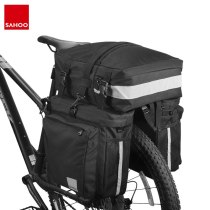 Sahoo 14892-A-SA 3 in 1 Mountain Road Bicycle Bike Trunk Bags Cycling Double Side Rear Rack Tail Seat Pannier Pack