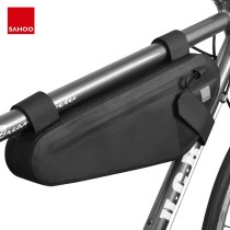 Sahoo Pro 122033 Full Waterproof Mountain Road Cycling Bike Top Tube Front Frame Bicycle Triangle Bag Pouch Pannier Pouch Pack