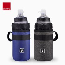 Sahoo 112009 Cycling Bike Bicycle Handlebar 750ml Insulated Water Bottle Bag Holder Kettle Cooler Pack Drink Hydration Carrier