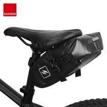Sahoo 131363-SA Full Waterproof Mountain Road Cycling Bike Saddle Bag Bicycle Wedge Pack Rear Back Seat Tail Bag Dry Pouch