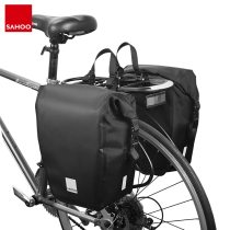 SAHOO 142088/142090 pcs Sahoo 10L/20L Mountain Road Bike Waterproof Bicycle Pannier Bag Cycling Back Rear Seat Trunk Bag Rack Pack Shoulder Bag
