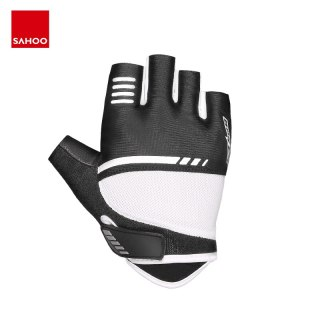 Sahoo 411429 Summer Mountain Road Breathable Non-slip Half Finger Cycling Bike Bicycle Gloves Mittens EVA Padded For Gym Fitness