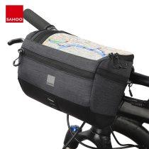 Sahoo 111459-SA Touchscreen Cycling Bike Bicycle Map Sleeve Handlebar Bag Pack Pannier Basket Phone Camera