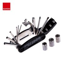 Sahoo 22047 16 in 1 Multi-Function Bike Bicycle Cycling Mechanic Repair Tool Kit Hex Key Wrench Slotted Phillips Screwdriver
