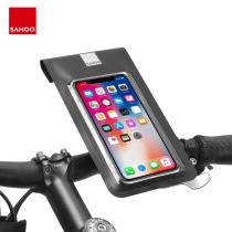 Sahoo 111323 Universal Waterproof Cycling Bicycle Bike Handlebar 6.0in Mobile Phone Mount Holder Cell Phone Bag Dry Case