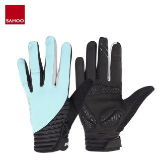 Sahoo 421322 Touchscreen Non-slip Full Finger Cycling Bike Bicycle Gloves Mittens For Gym Fitness Running Hiking Camping Racing