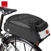 Sahoo 142093 Mountain Road Bike Bicycle Cycling Rear Seat Rack Trunk Bag Pack Saddle Bag Pannier Carrier Shoulder Bag 10L