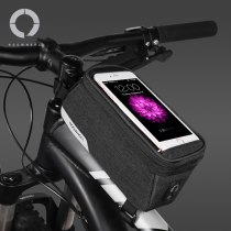 Roswheel  Essentials 121460 Bike Top Tube Front Frame Bicycle Cell Mobile Phone Bag Case Holder Pannier Pouch for 5.7  Phones