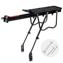 20-29 inch Bicycle Carrier Bike Luggage Cargo Rear Rack  Iron Shelf Saddle Bags Holder Stand Support