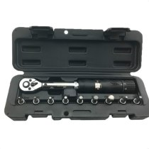 PROMEND bike repair tool 1/4in DR 2-24NM 9 PCS Torque Wrench Bicycle Bike Tools Kit Set Tool Bike Repair Spanner Hand Tools
